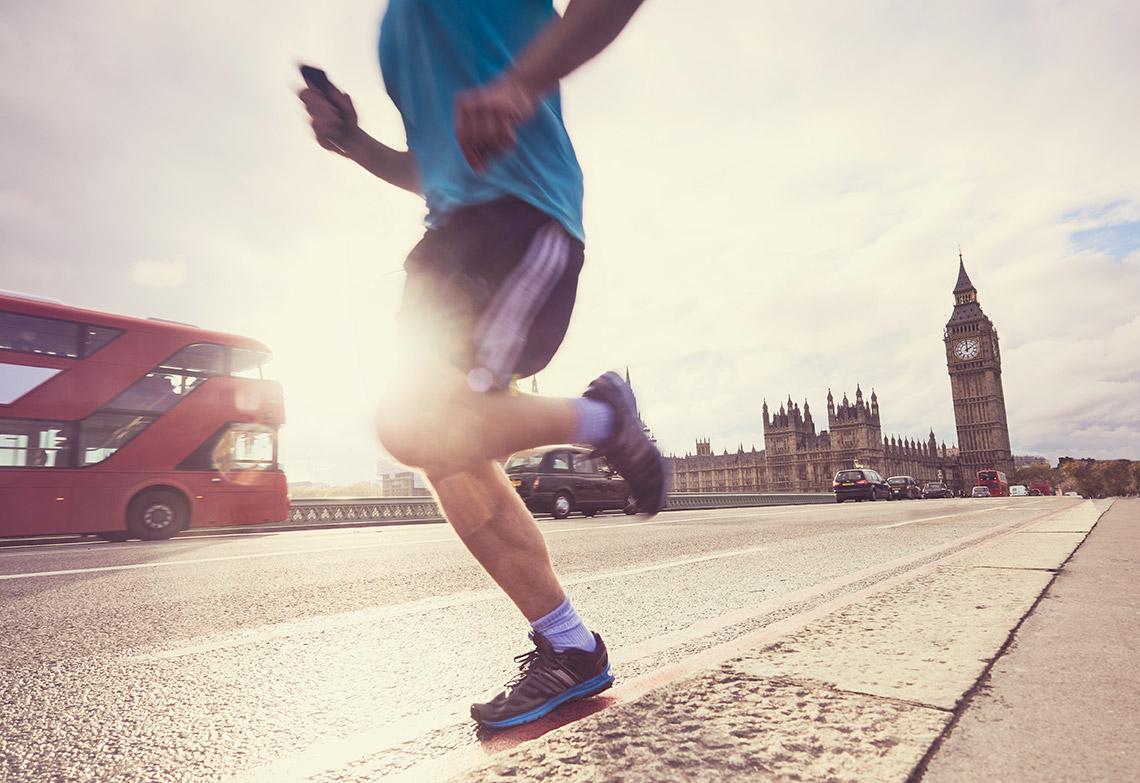 Mark Nash completes London Marathon