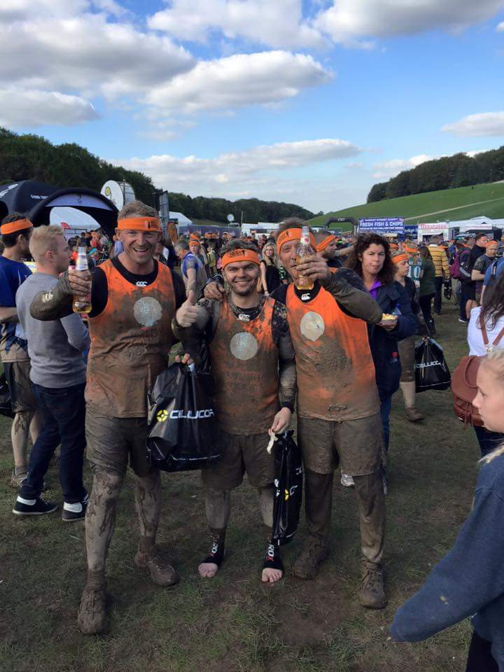 Mploy Mudders complete Tough Mudder