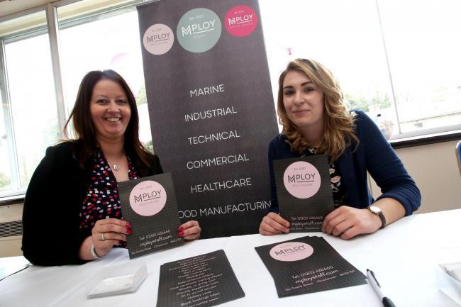 Mploy Healthcare Sponsor Bournemouth Jobs Fair