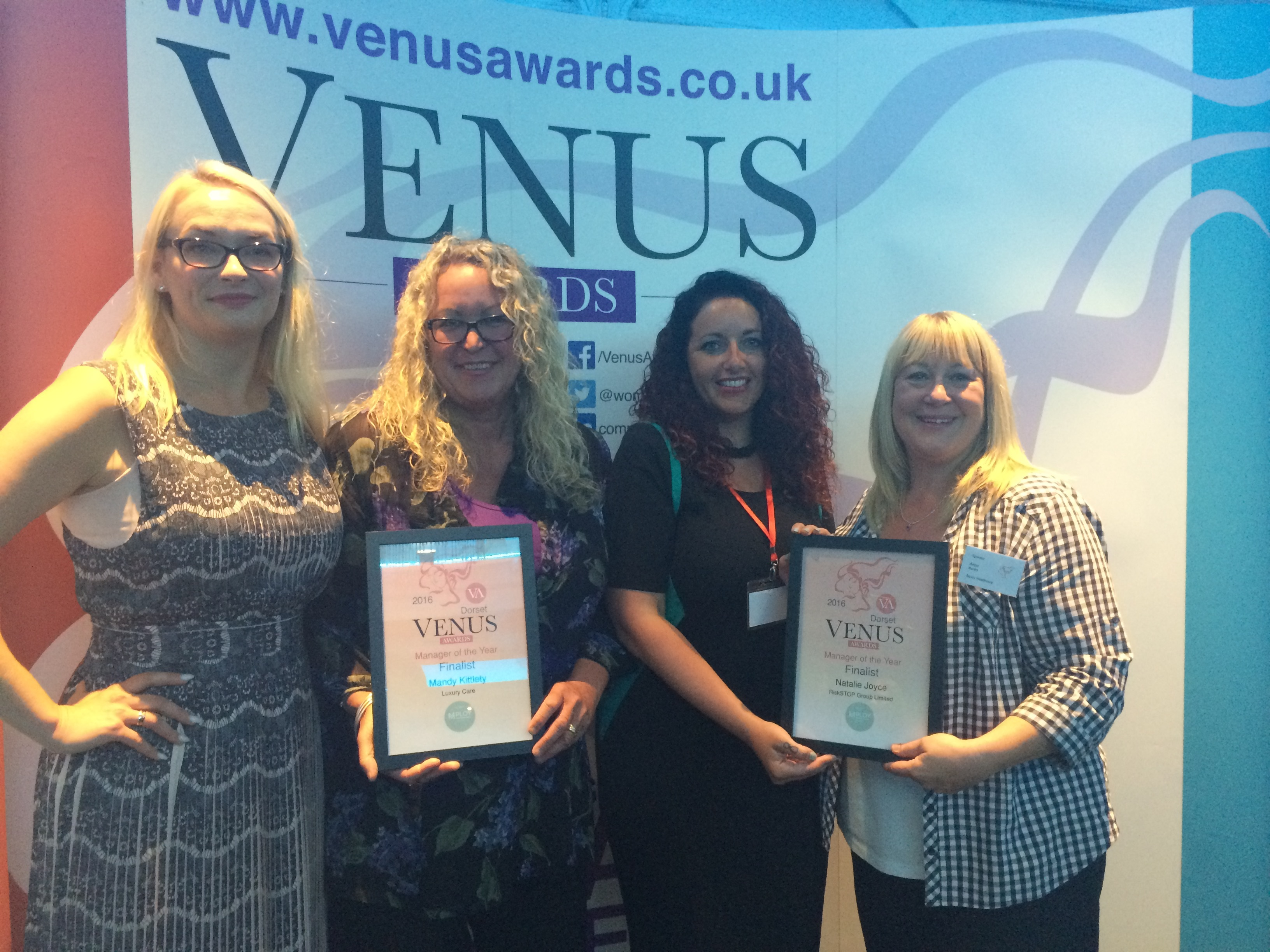 VENUS AWARDS DORSET – FINALISTS EVENT
