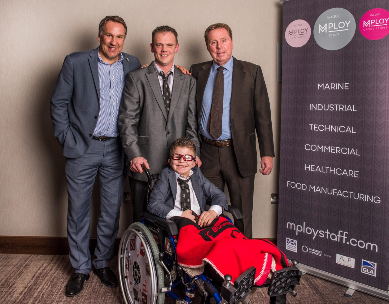 Mploy helped to raise money for young people with serious illnesses