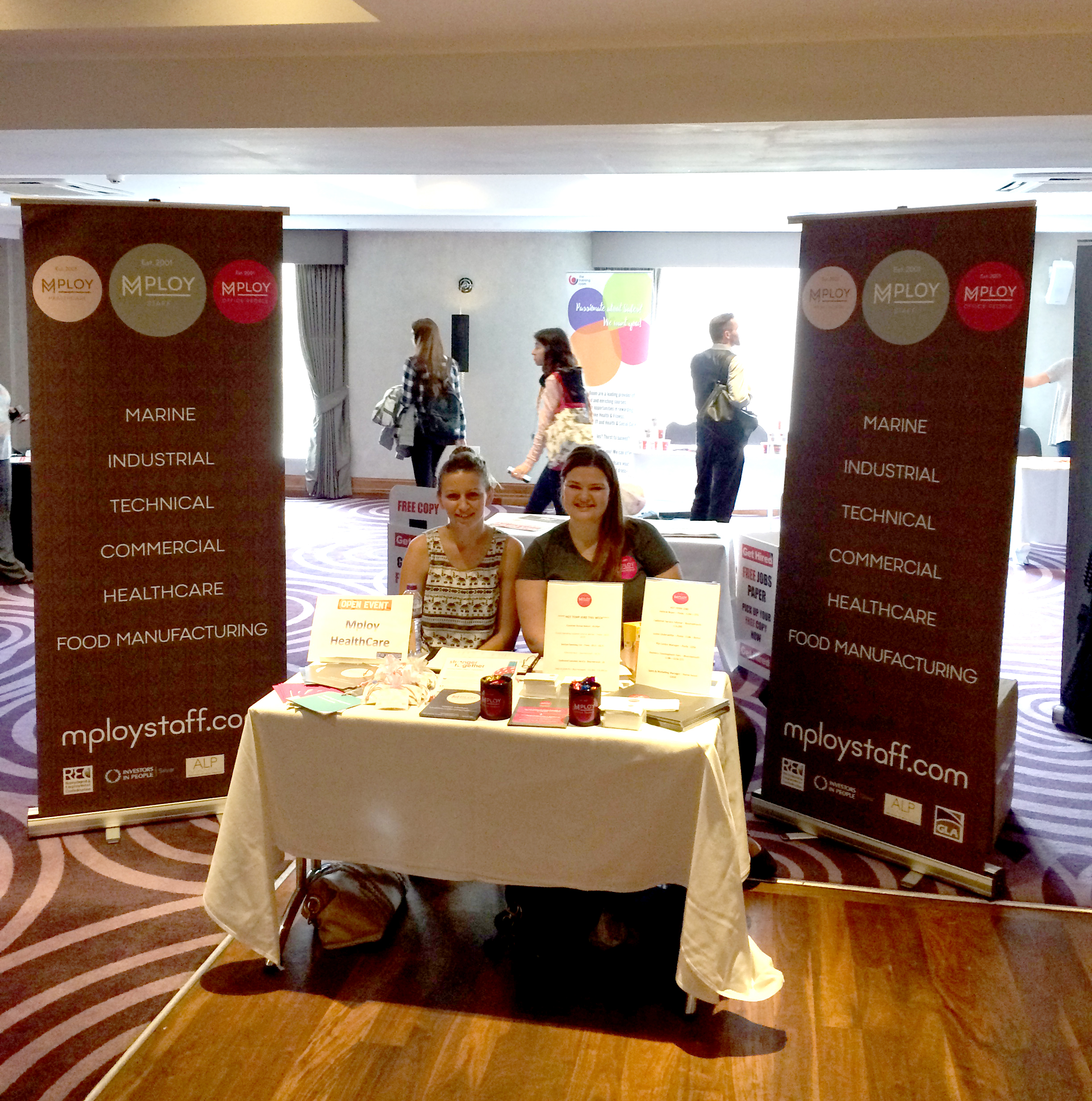 Mploy at Bournemouth Job Fair