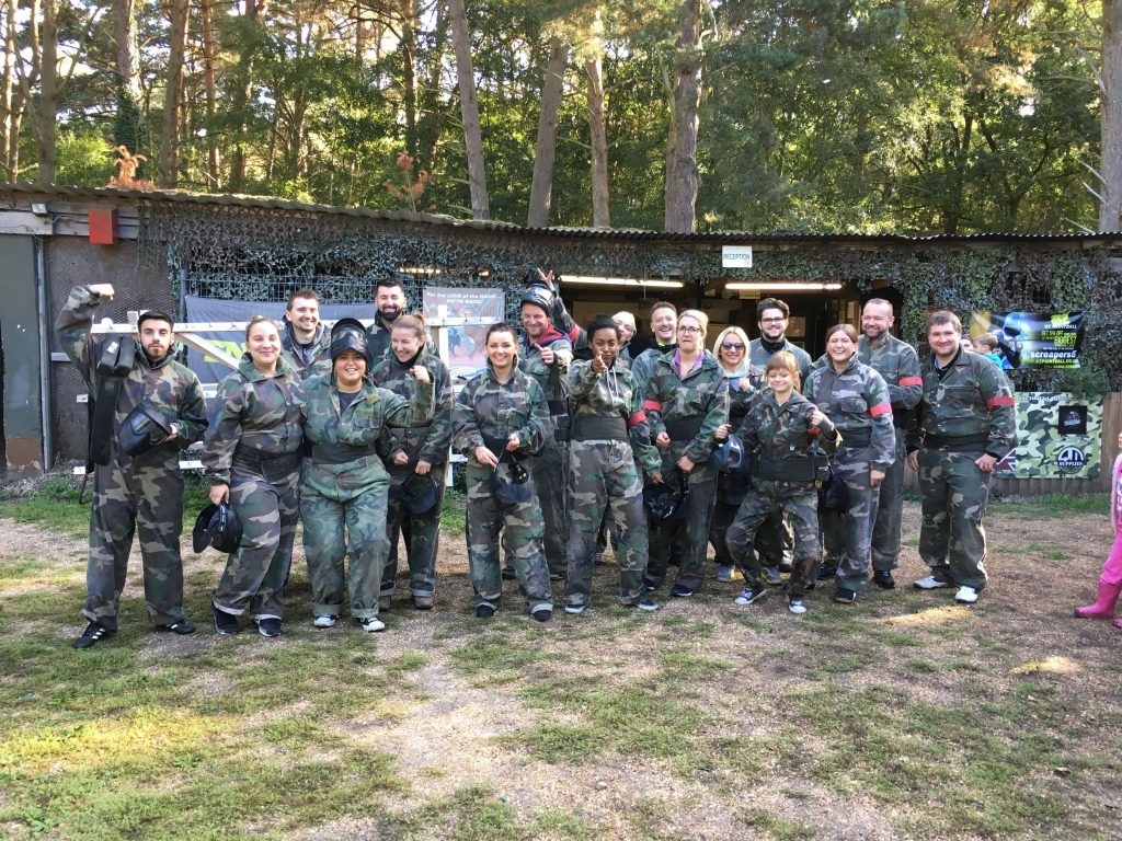 Image of the team Paint Balling